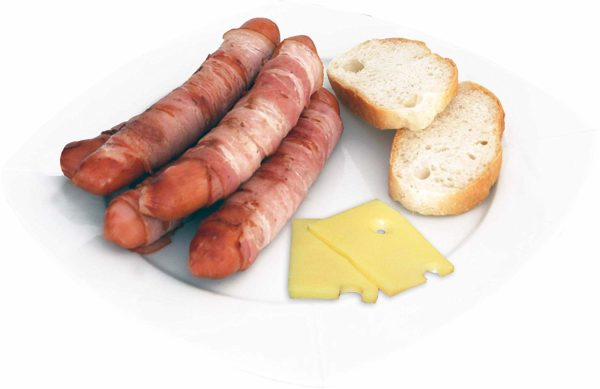 Berne Sausages with Cheese